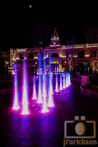 Village Fountains Purple 13