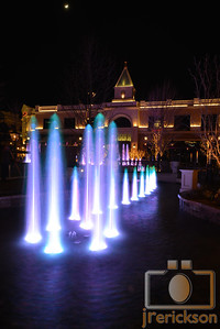 Village Fountains Purple 12