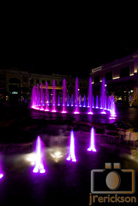 Village Fountains Purple 24
