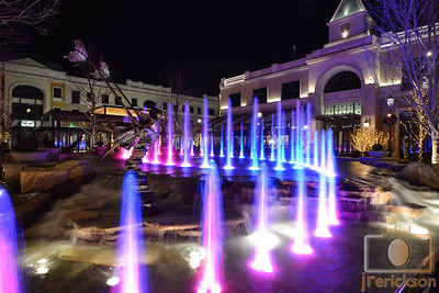 Village Fountains Purple 5