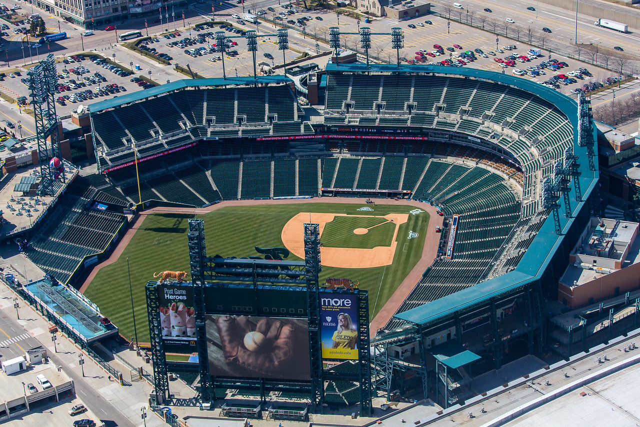 Comerica Park - Detroit City