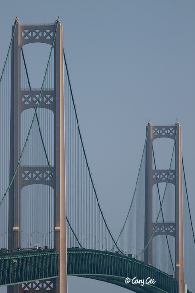 The Mackinac Bridge Uprights