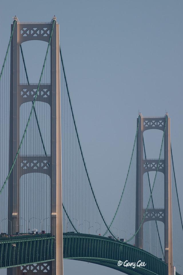 The Mackinac Bridge Uprights