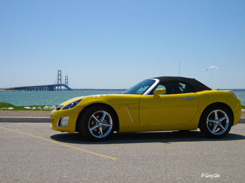 Saturn Sky & Big Mac Bridge
