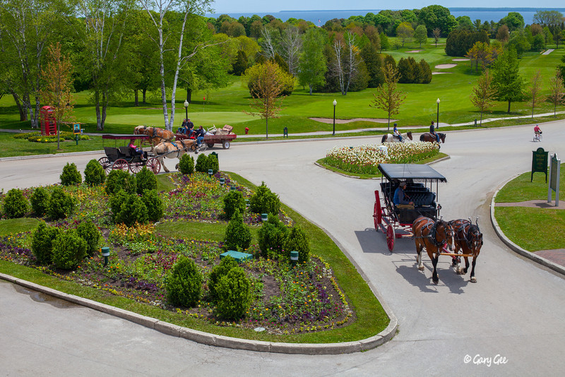 Scene from Mackinac Island
