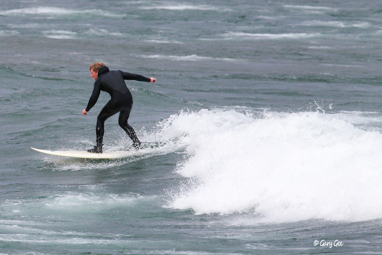 Lake Superior Surfing in Marquette