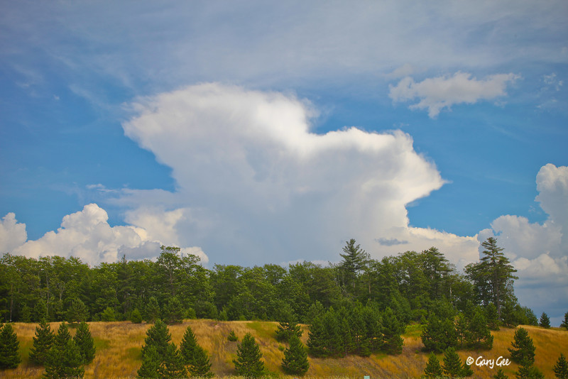 Thunderhead over Marquette, MI