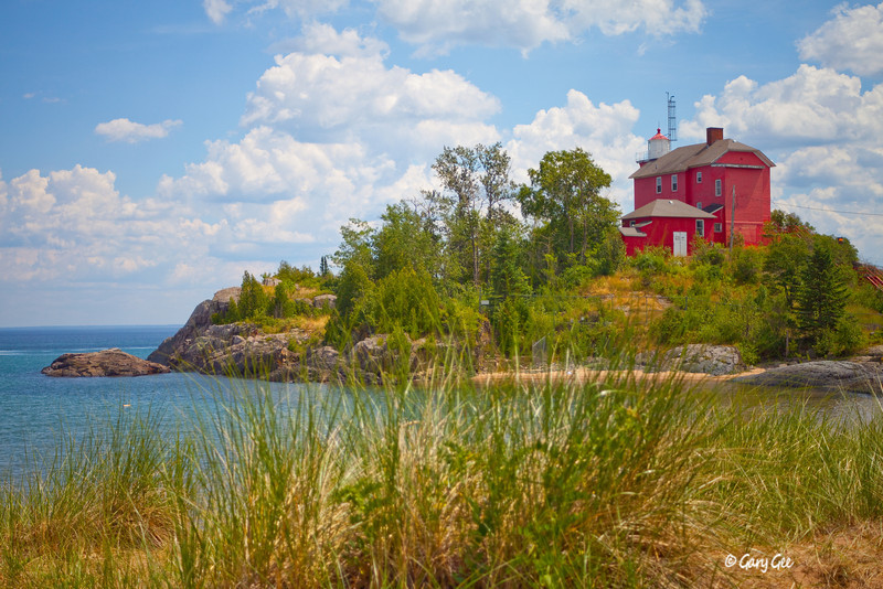 Marquette Harbor Lighthouse, Michigan's U.P.
