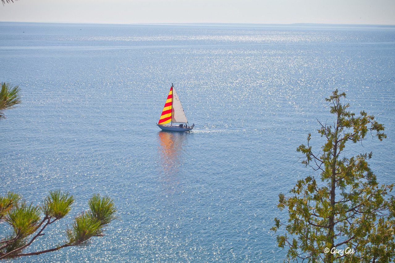 Colorful Sailboat