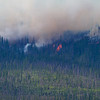 Howe Ridge Fire our first views at 3pm  on 8-12