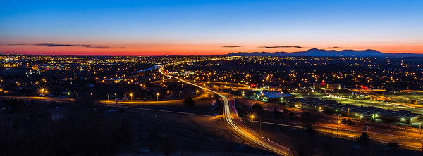 Sunrise over Great Falls, Montana