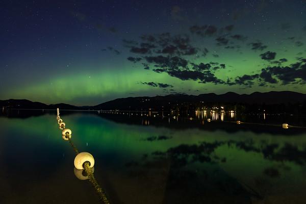 Whitefish Northern Lights