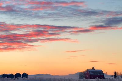 Western Winter Sunrise