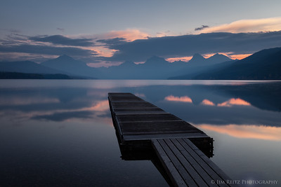 Sunrise on Lake McDonald - Apgar Village, Glacier National Park