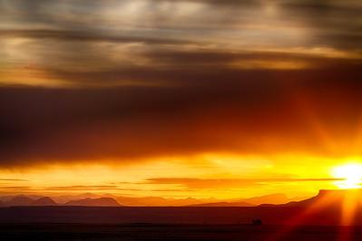 Prairie Meets the Mountains