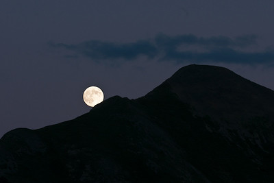 Full Moon and Gothic Mountain