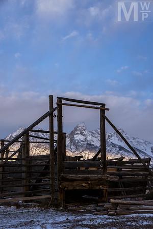A Wood Frame