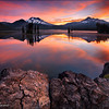 "<font color=""#FFFFFF"" size=""4"" face=""Verdana, Arial, Helvetica, sans-serif"">Strawberry Sunrise</font><br> Sparks Lake, Oregon"