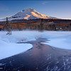 "<font color=""#FFFFFF"" size=""4"" face=""Verdana, Arial, Helvetica, sans-serif"">Frozen Mt Hood Morning</font><br> Mt Hood, Oregon"
