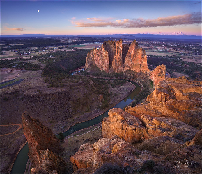 Smith Rock Birds Eye
