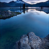 "<font color=""#FFFFFF"" size=""4"" face=""Verdana, Arial, Helvetica, sans-serif"">Sparks Lake Blue Hour</font><br> Sparks Lake, Oregon"