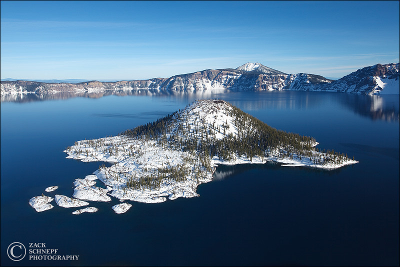 "<font color=""#FFFFFF"" size=""4"" face=""Verdana, Arial, Helvetica, sans-serif"">Winter Wizard Island</font><br> Crater Lake, Oregon"
