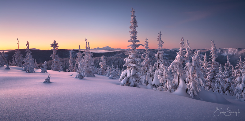 Winter Tranquility Mt. Hood, Oregon