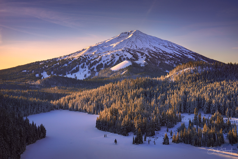 Mt Bachelor Solstice Sunrise