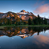 "<font color=""#FFFFFF"" size=""4"" face=""Verdana, Arial, Helvetica, sans-serif"">Jefferson Reflection</font><br> Mt. Jefferson, Oregon"