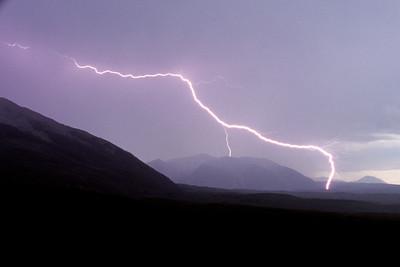 Lightning in the West Elks