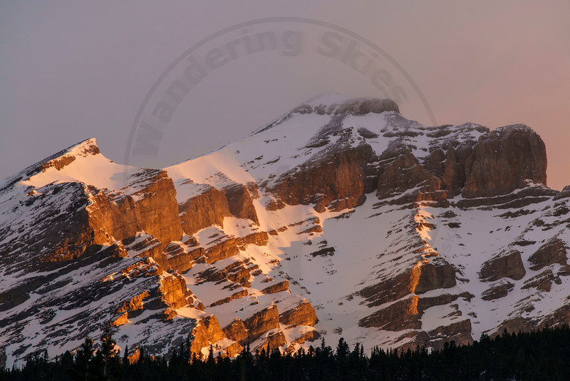Cascade Mountain, Banff National, Park