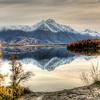 Pioneer Peak and Jim Lake