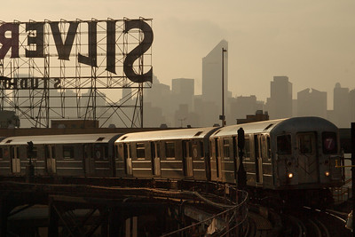 7 Line Subway Train, Queens, NYC