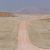 Sandpiste, dirt road, Solitaire, Namibia