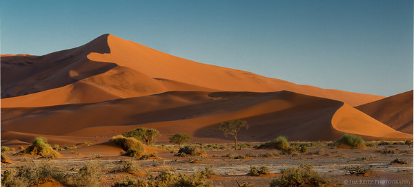 """The sand dune known as """"Big Daddy - at nearly 1100 feet, one of the tallest dunes in the world."""