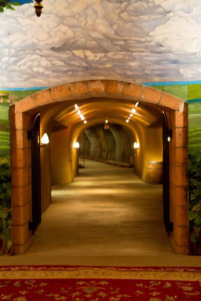 Inglenook Winery Cave Entrance