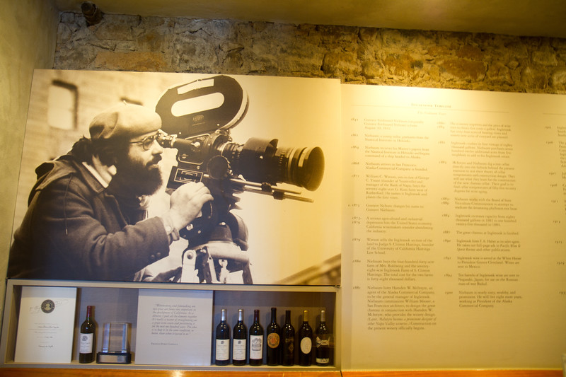 History of Inglenook and Coppola's involvement later on