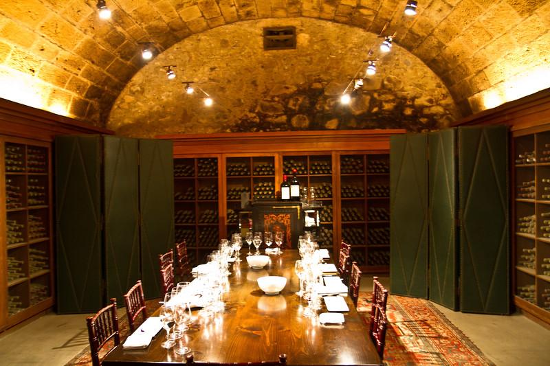 Inglenook wine tasting room