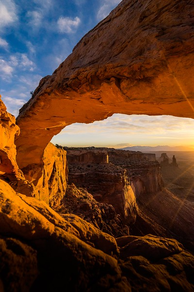 Mesa Arch Left
