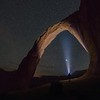 Corona Arch by Night