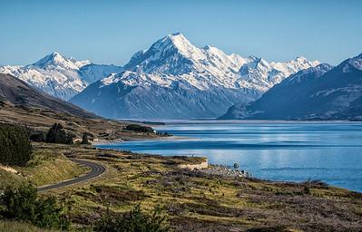 Aoraki/Mt Cook from Peter's Lookout