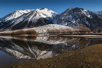 Lake Pearson reflections