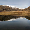 Lake Camp reflections, Hakatere Canterbury New Zealand