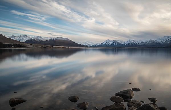 Lake Heron, Hakatere, Canterbury NZ