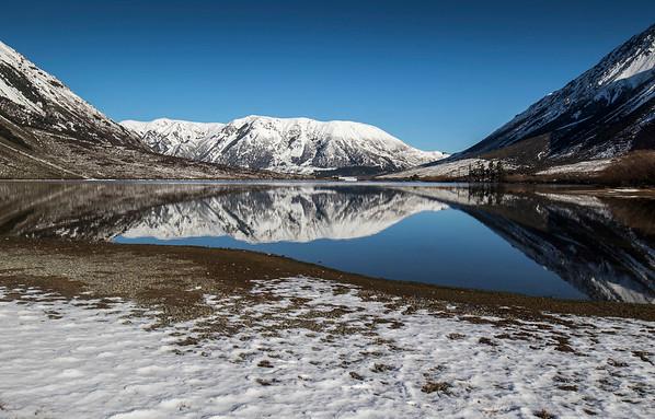 Lake Pearson - Arthur's Pass