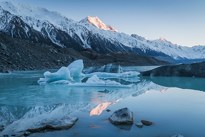 Tasman Glacier Lake - Aoraki Mt Cook National Park