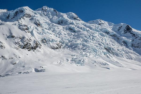 Ice field Tasman Glacier