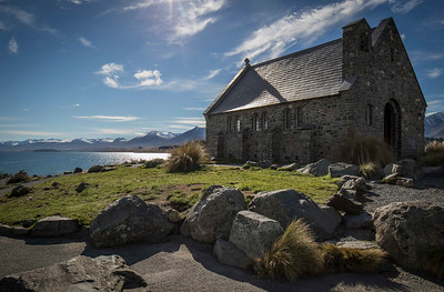 The Church of the Good Shepherd  -  Lake Tekapo, NZ