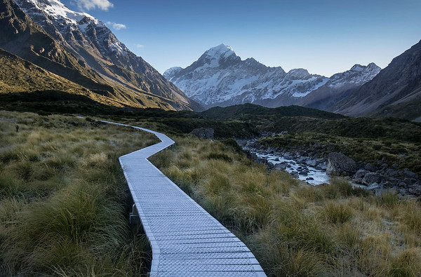 Hooker Valley track - Aoraki/ Mount Cook National Park