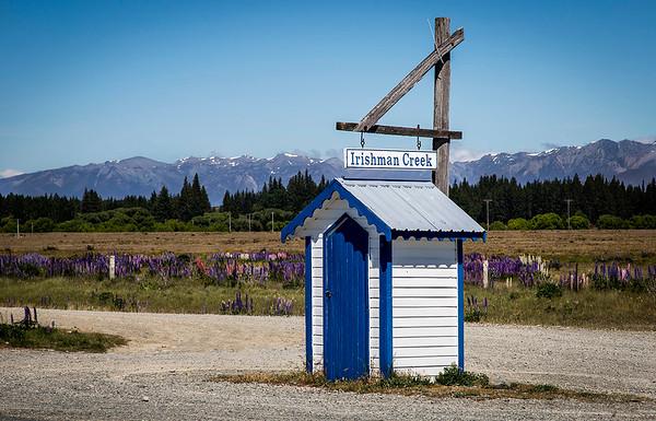 Irishman Creek Station mail box